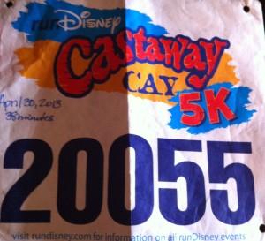 Castaway Cay 5K 2013