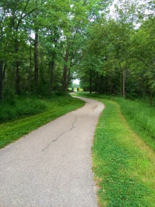 It helps that it really is a gorgeous path, especially in comparison to my normal runs through the suburbs.